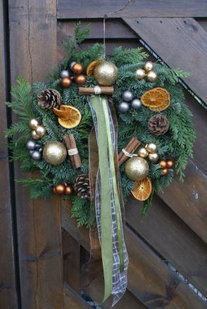 Cinnamon & Orange Wreath