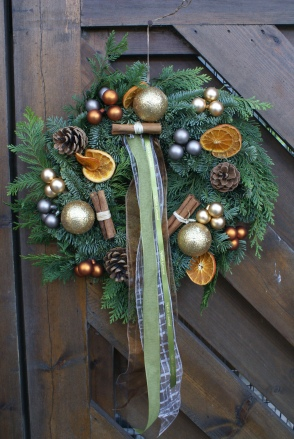 Cinnamon & Orange Wreath