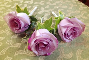 Memory Lane Rose Buttonhole